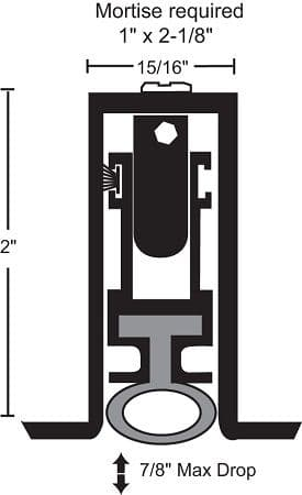 NGP 522 ADB with Neoprene Bulb Seal